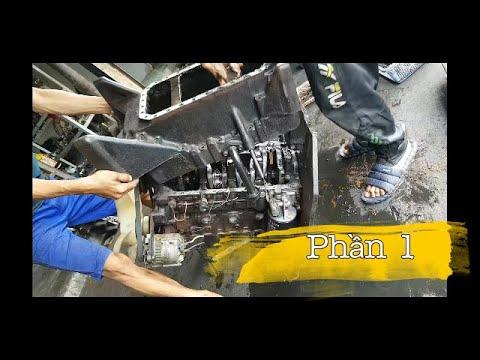 Dạy nghề cho học viên cách sửa chửa động cơ | Phần 1 : Rã Máy