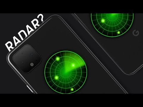 The Pixel 4 has.. radar?