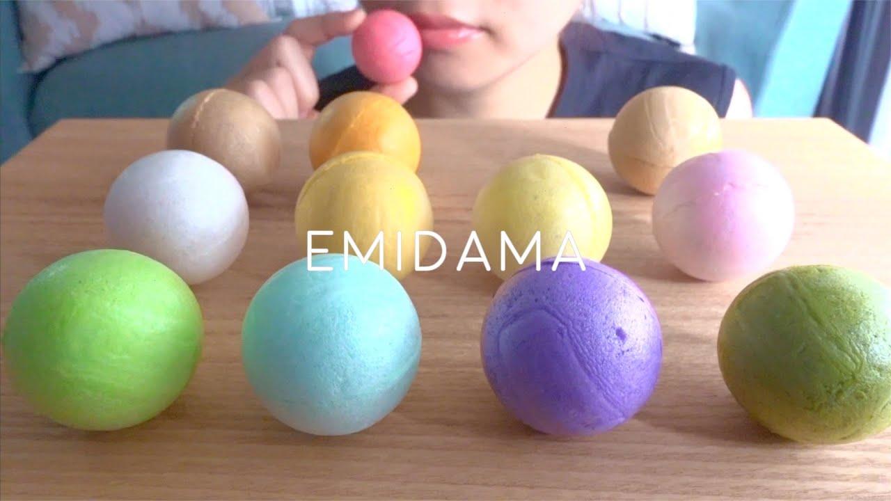 【咀嚼音】球体最中、笑美玉を食べる【ASMR/EATINGSOUNDS】モナカ