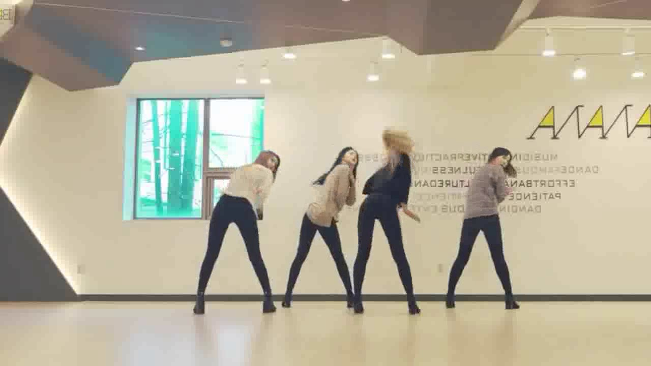 EXID - 'DDD' Mirrored Dance Practice