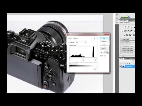 """Урок 52: обработка фото, быстрое осветление фона, инструмент """"пипетка"""""""