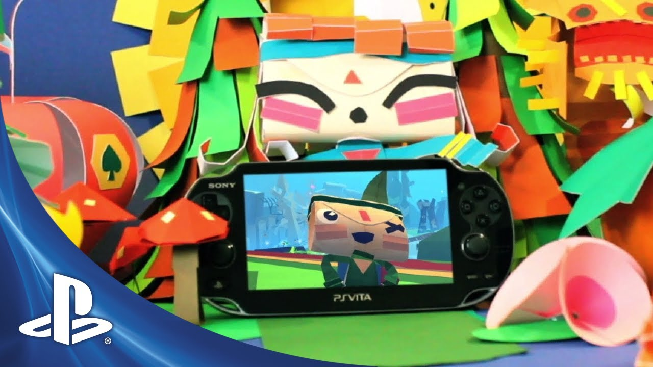 Papercraft Tearaway - Launch Trailer
