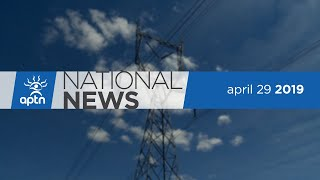 APTN National News April 29, 2019 – Alberta eagle feathers, Kashechewan rallies