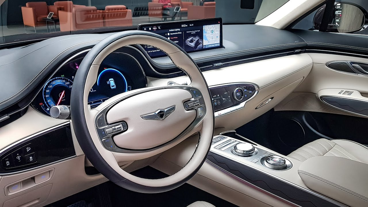 The All New 2022 GENESIS GV70 Interior&Exterior Tour Luxury Compact SUV