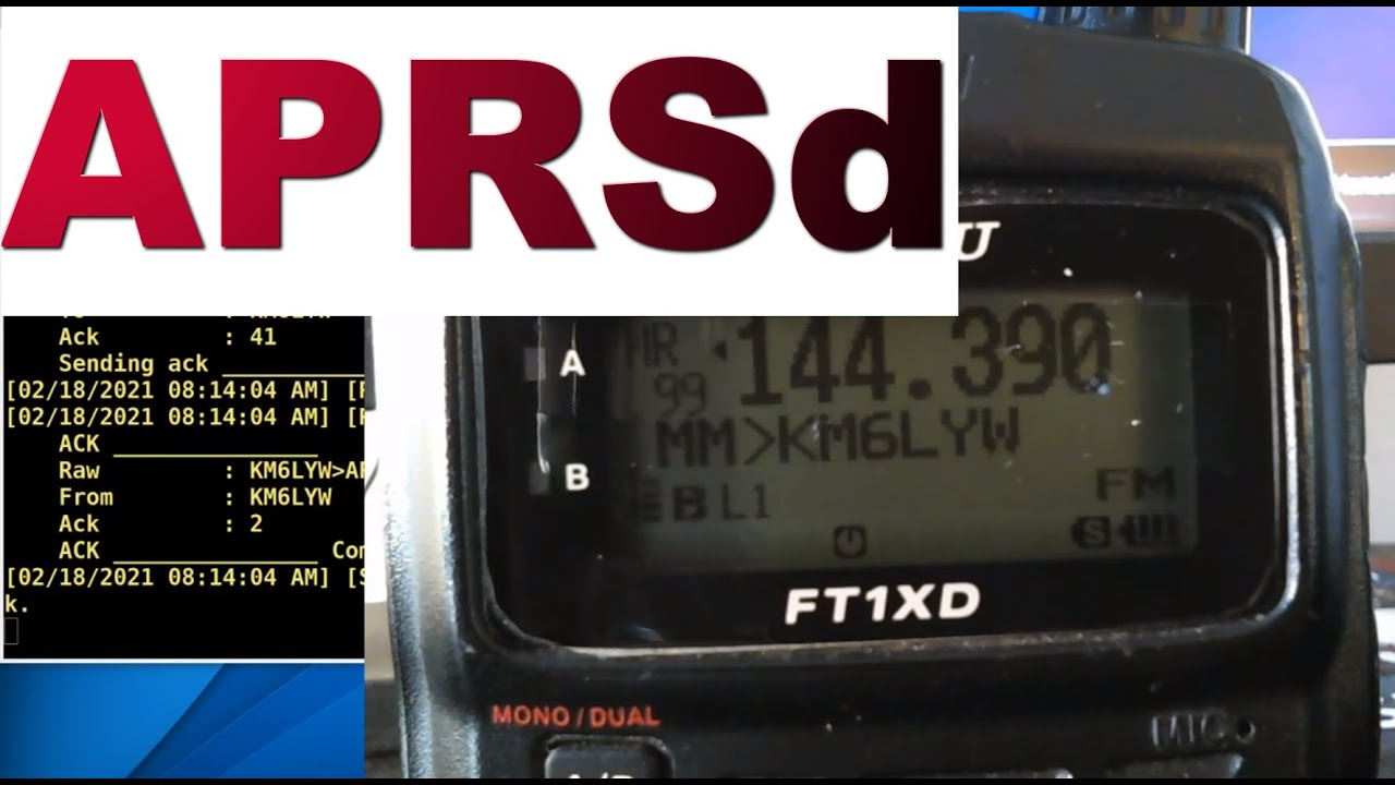 Download Make your own APRS packet radio service!