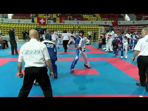 Greece v Italy Junior Team Event WAKO European Championships 2017