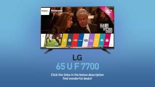LG 65UF7700 4K UHD Smart LED TV - 65
