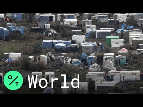 20,000-Person Moria Refugee Camp in Lesbos, Greece Braces for Coronavirus