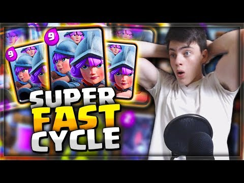 ULTRA FAST 3 MUSKETEERS CYCLE DECK! It Is So Much FUN TO PLAY!