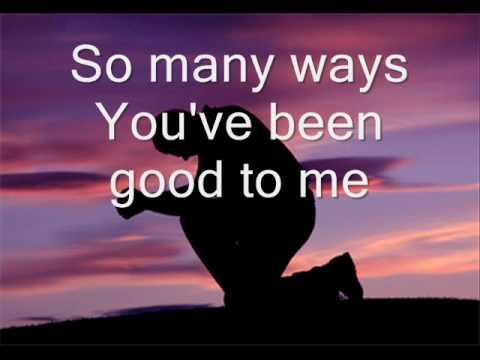 Scott Krippayne-You Have Been Good (with lyrics)