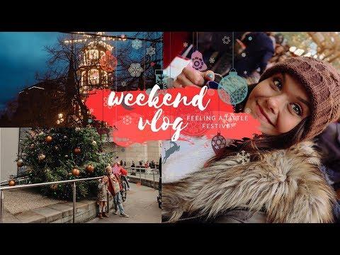 WEEKEND VLOG - MANCHESTER CHRISTMAS MARKETS & FEELING A BIT FESTIVE!