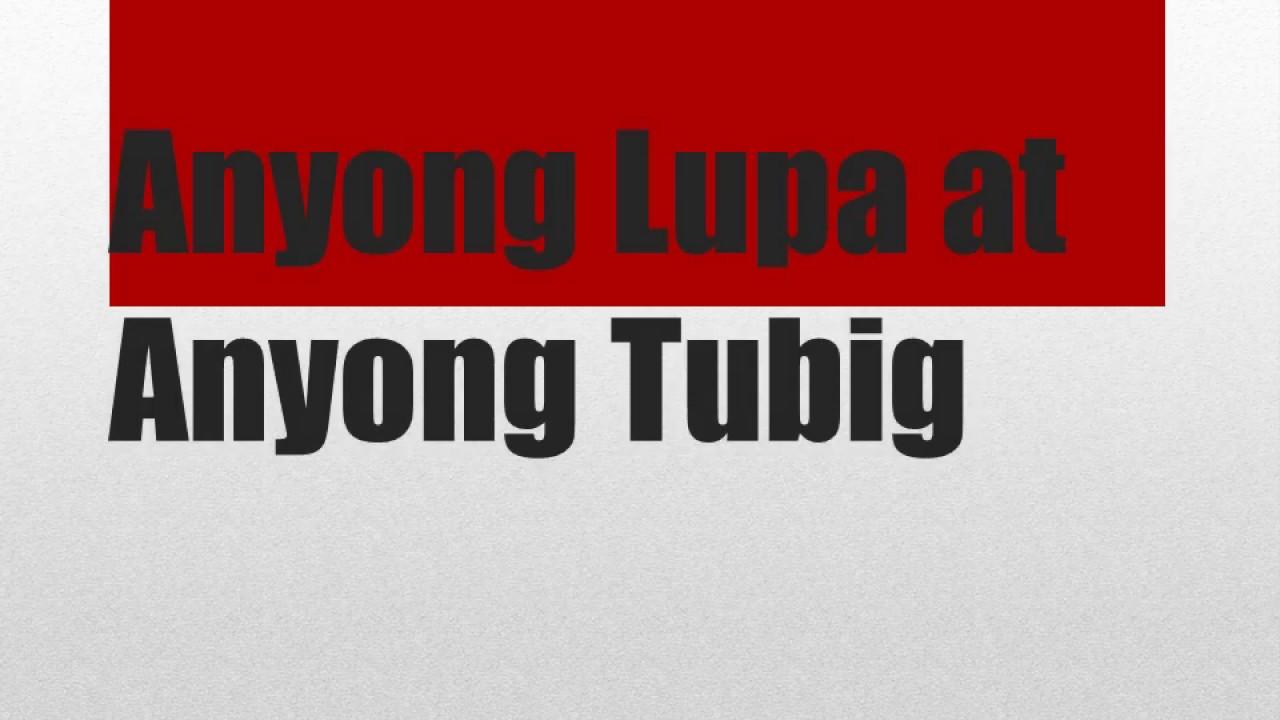 hight resolution of Anyong Lupa at anyong Tubig   Quiz   Grade 3 - YouTube