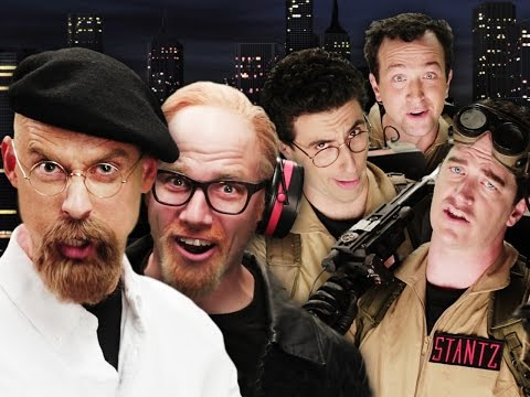 Видео, Ghostbusters vs Mythbusters.  Epic Rap Battles of History Season 4