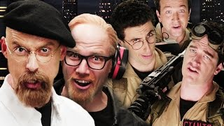 Repeat youtube video Ghostbusters vs Mythbusters.  Epic Rap Battles of History Season 4.