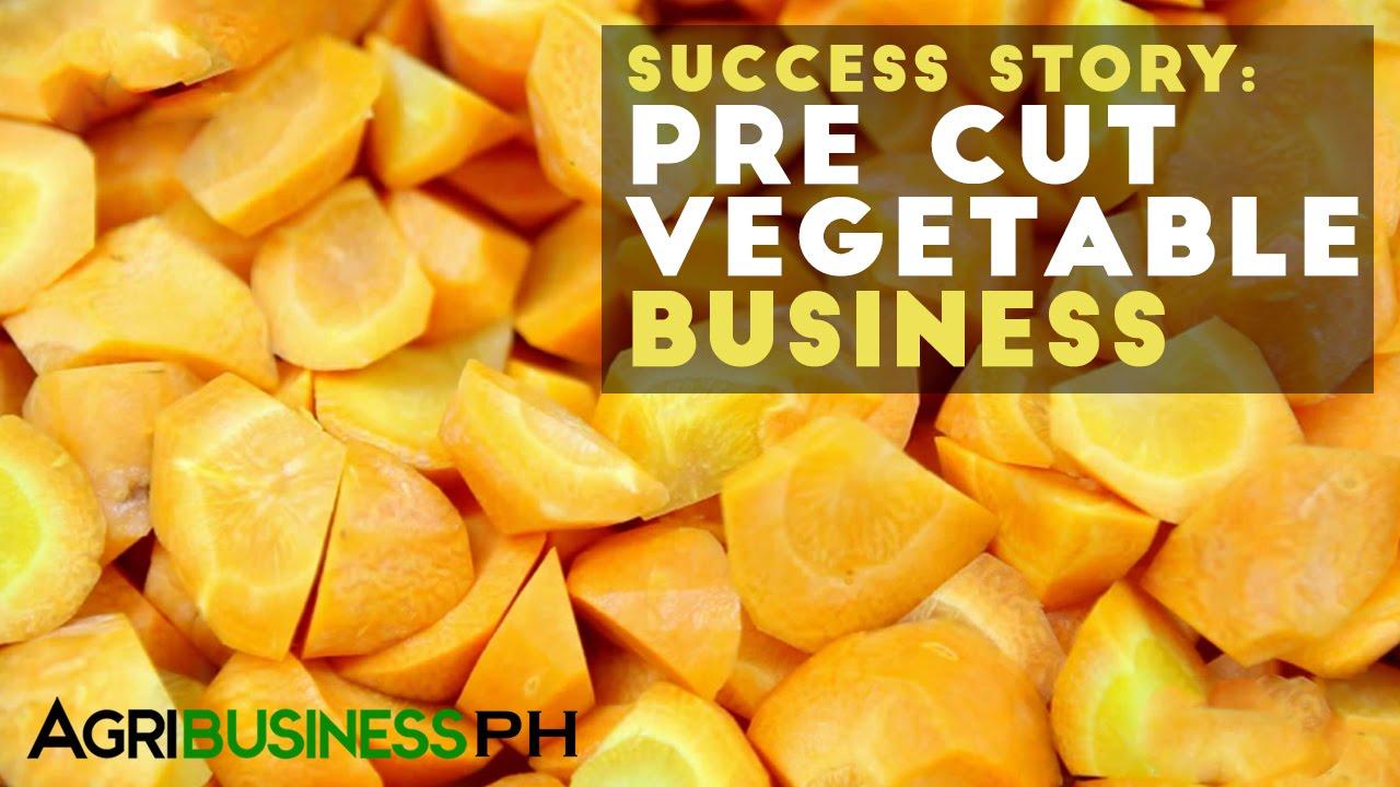 Pre Cut Vegetable Business Success Story