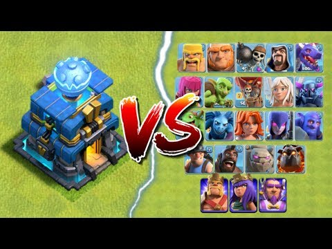 GIGA TESLA vs ALL TROOPS in Clash of Clans | Town Hall 12 CoC Update - New Defense Attacks!