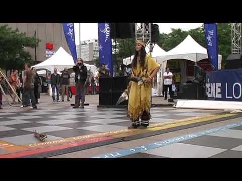 Andicha n'de Wendat in Montreal: Danse de la Paix