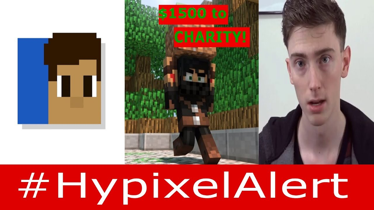 Hypixel Donates $1500 to CHARITY! #HypixelAlert Bitzel, TheOriginalAce,  Masskill