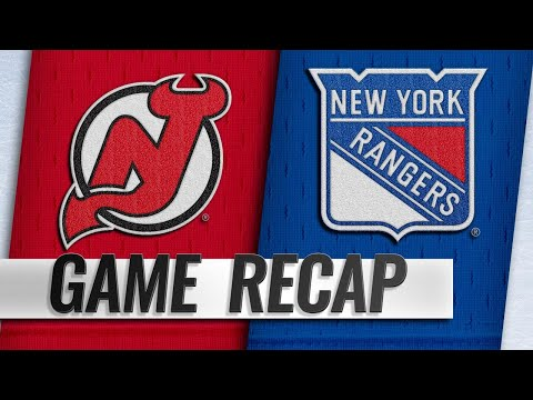 Balanced attack lifts Rangers past Devils, 5-2