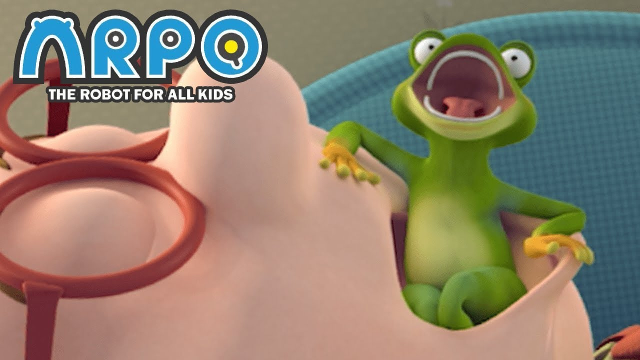 ARPO The Robot For All Kids - Frog In Your Throat | Full Episode | Videos For Kids