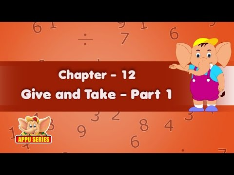Learn Maths - Give and Take  (Part 1)
