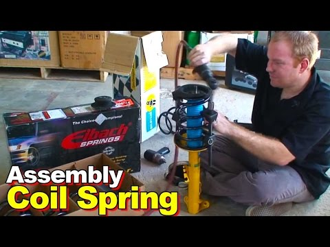 compress-&-replace-a-strut-&-coil-spring-w/-the-somewhat-dangerous-cheap-spring-compressor