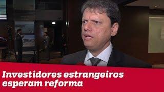 Ministro da Infraestrura diz que investidores estrangeiros esperam reforma