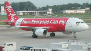 Video One Minute: AirAsia Flight Experience AK700 Singapore to Kuala Lumpur download MP3, 3GP, MP4, WEBM, AVI, FLV Agustus 2018