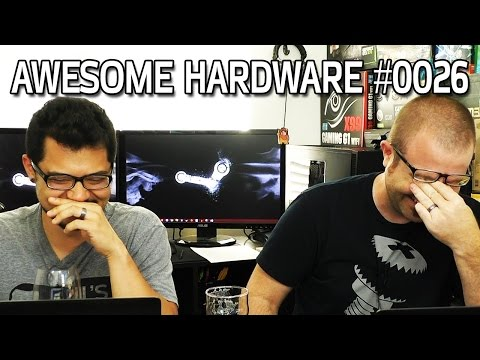 Awesome Hardware #0026A - AMD Rocks DX12 AotS Benchmark, Star Wars Land, Dancing Robot Spiders
