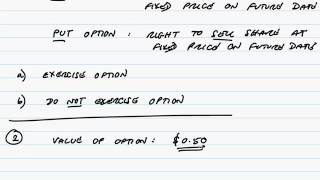 acca p4 share options and option pricing part 1