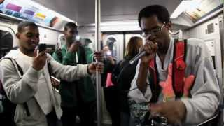 NYC SUBWAY BEATBOXER WILL BLOW YOUR MIND!! Verbal Ase