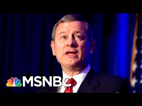 President Donald Trump And Chief Justice John Roberts Square Off | Deadline | MSNBC