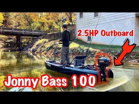 Jonny Bass 100 + Suzuki 2.5HP Outboard
