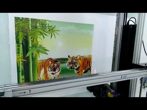 2880dpi Wireless Wall Printing Machine, 3D Wall Printer, UV ...