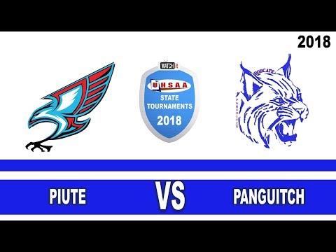 1A Boys Basketball: Piute vs Panguitch High School UHSAA 2018 State Tournament Semifinals