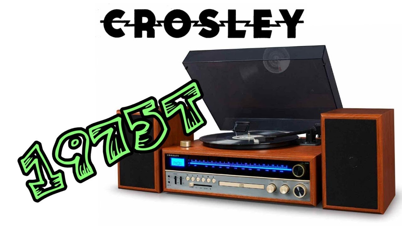 The Crosley 1975t Shelf System Review Unboxing