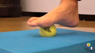 Exercices pour les pieds