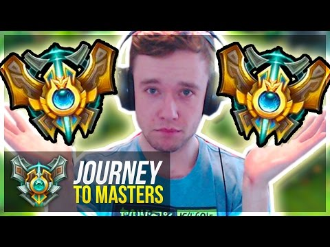 IN CHALLENGER ELO GAMES NOW?! - TRUE Climb BEGINS | Journey To Masters #35 S7 - League of Legends