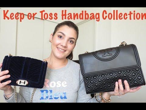 Keep or Toss: Handbag Edition- TORY BURCH, MADEWELL, REBECCA MINKOFF