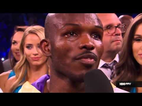 Timothy Dleys Reaction To The Replay Of Him Getting Knockdown By Pacquiao