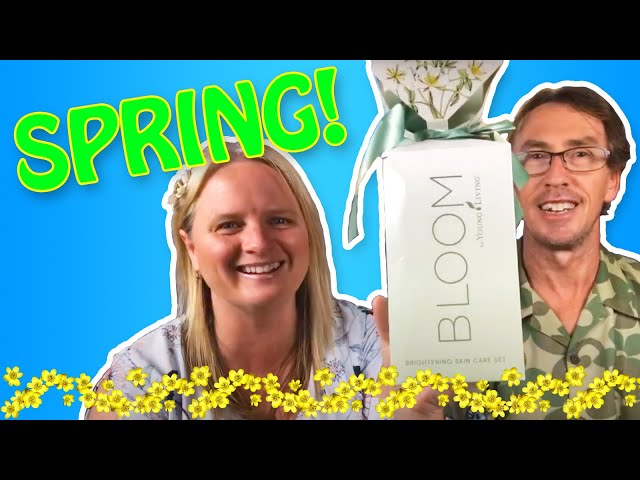 Favourite Young Living products for Spring