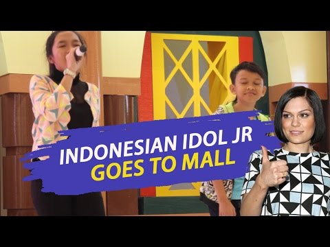 Abby, Jojo Idol jr feat Jessie J - Indonesian Idol Junior Goes to Mall
