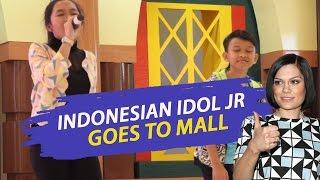 Abby, Jojo Idol jr feat Jessie J - Indonesian Idol Junior Goes to Mall
