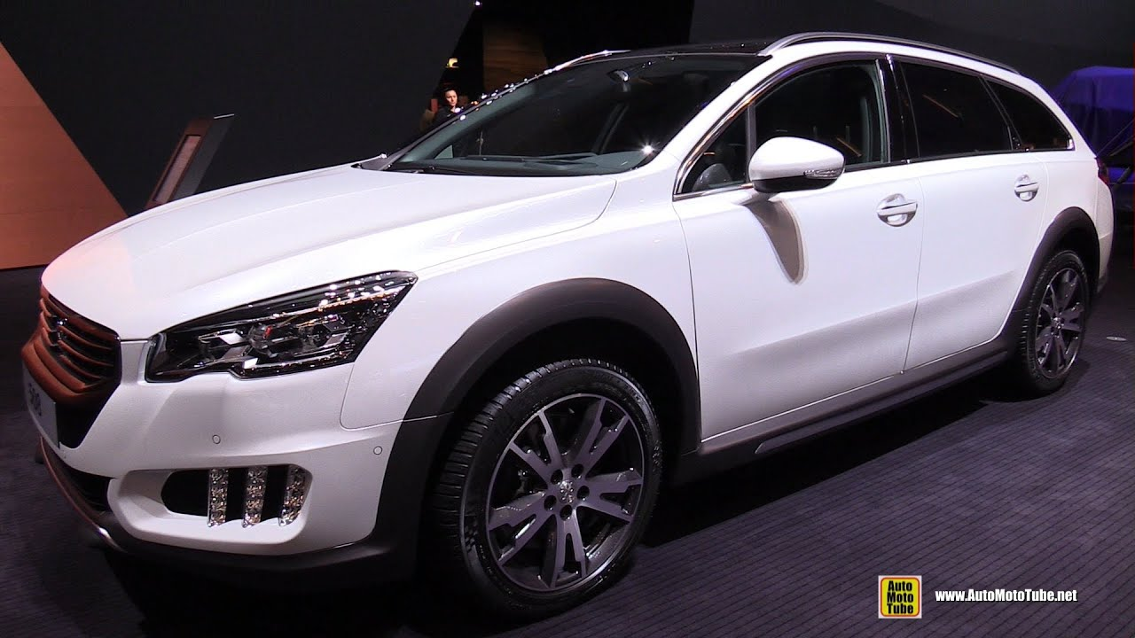 2015 peugeot 508 rxh 2 0 hdi exterior and interior. Black Bedroom Furniture Sets. Home Design Ideas