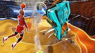 MODDED ROCKET LEAGUE BASKETBALL IS HILARIOUS!