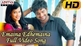 Adhee Lekka Movie    Emaina Edhemaina Full Video Song    Manoj Nandam,Mahee