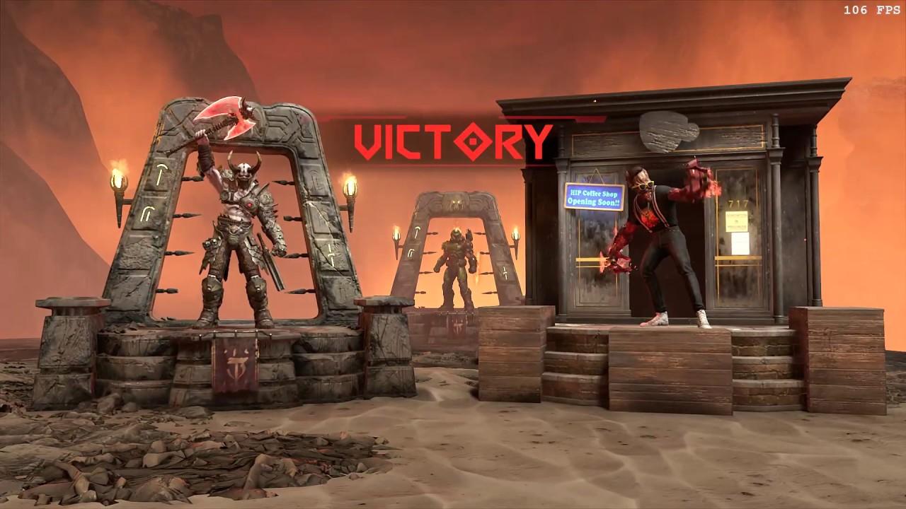 Doom Eternal Hipster Archvile Gameplay Youtube