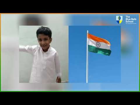 The Blue Bells School For Integrated Learning, Gurugram virtual celebration on Independence Day 2020