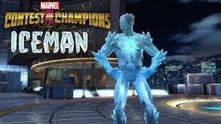 Marvel Contest Of Champions Iceman Unlocked with Gameplay. This was...