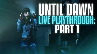 PLAYING UNTIL DAWN AT 12AM! **HORROR GAME** PS4